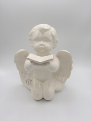 Musical Cherub from Eagledale Florist in Indianapolis, IN