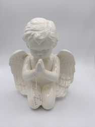 Praying Musical Cherub from Eagledale Florist in Indianapolis, IN