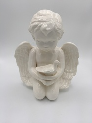 Medium Cherub from Eagledale Florist in Indianapolis, IN