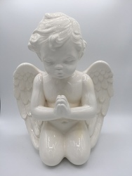 Large Praying Cherub from Eagledale Florist in Indianapolis, IN