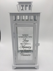 Memory Lantern from Eagledale Florist in Indianapolis, IN