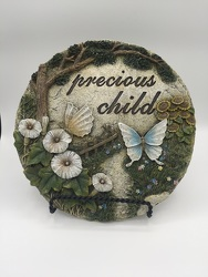 Precious Child Resin Stone with Stand from Eagledale Florist in Indianapolis, IN