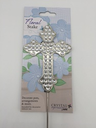 Acrylic Iridescent Floral Stake from Eagledale Florist in Indianapolis, IN