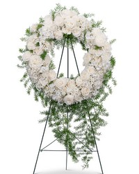 Eternal Peace Wreath from Eagledale Florist in Indianapolis, IN