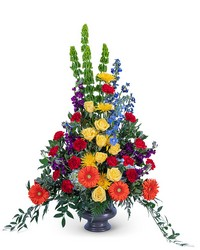 Vibrant Life Urn from Eagledale Florist in Indianapolis, IN