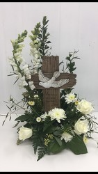 In Loving Memory Cross from Eagledale Florist in Indianapolis, IN